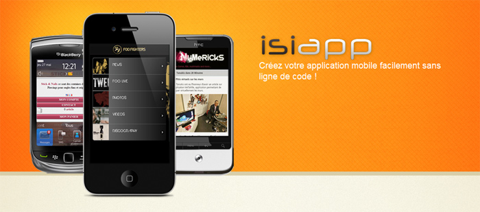 Logo fooshi Isiapp : le developpement en ligne dapplication mobile