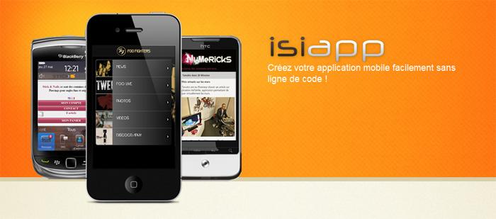 Logo fooshi Isiapp : le developpement en ligne dapplication mobile
